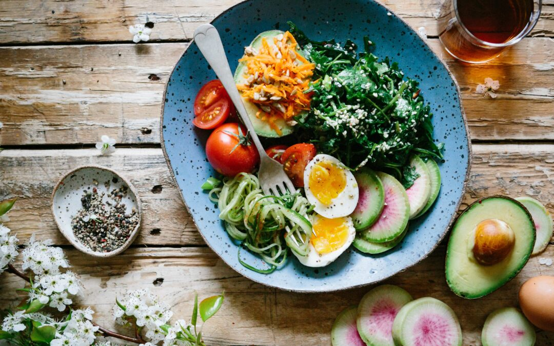 Bild von gesundem Essen
